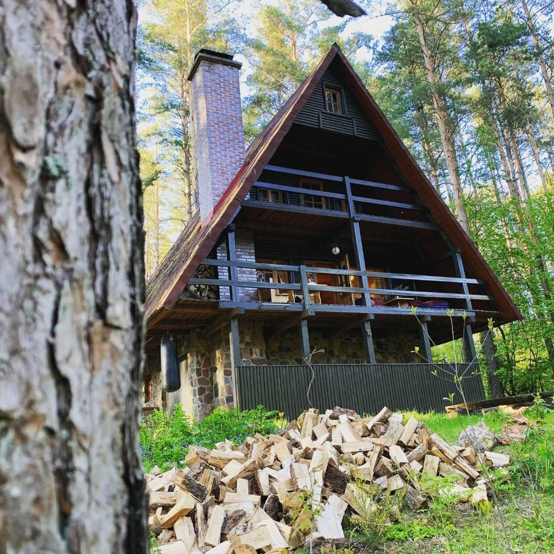 Holiday home in Poland, with sauna and rowing boat